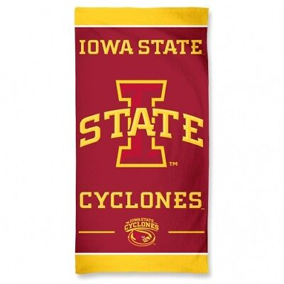 Iowa State Cyclones Beach Towel - New Style by McArthur