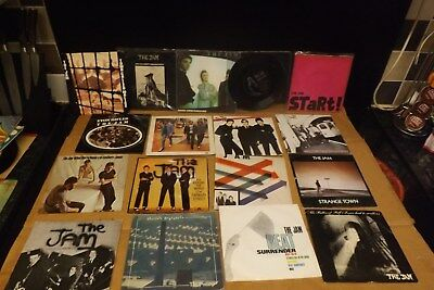 17x the jam singles all play vg to ex condition