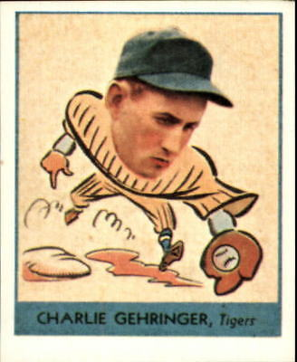 1938 Goudey Heads-Up '85 Reprints Baseball Card #241 Charley Gehringer - NM-MT