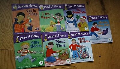 Read At Home 7 Books Biff Chip and Kipper Level 1 Oxford Reading Tree