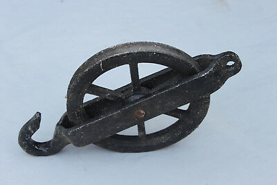 Turret clock pulley 7 inch