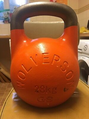 Wolverson 28kg GS/ GSU Competition Kettlebell