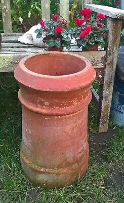 Large Heavy Terracotta Chimney Pot Planter Garden Patio COLLECTION
