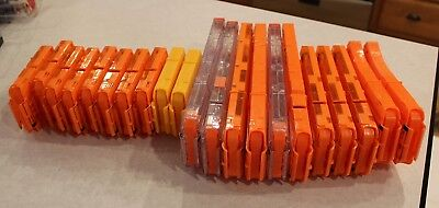 Nerf N-Strike Ammo Clips (Lot of 21) Great Played with Shape