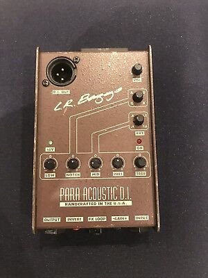 L.R.Baggs Para-Acoustic D.I. well Used!