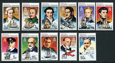 British Antarctic Territory Scott #45-58 MNH Famous People CV$21+