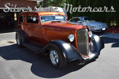 1934 Plymouth PF  1934 Burnt Copper Hot Rod 306cid Coupe Automatic Rare Great Car