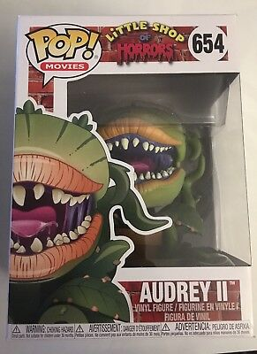 Funko Pop! Movies Audrey II Little Shop of Horrors #654 New