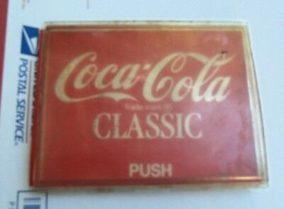 "Dixie-Narco / Vendo ""COKE"" Soda Vending Machine LARGE 6.75x5.5 Selection Button"