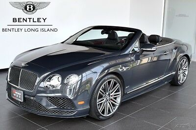 2016 Bentley Continental GT Speed Convertible (Certified Pre-Owned) Mulliner Driving Specification - Contrast Stitching - Contrast Binding to Carpet