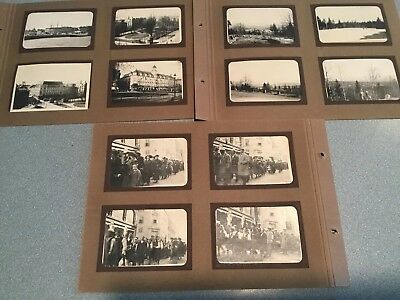 1920s 24 photos in loose pages album Norway workers marching/ city/ country etc