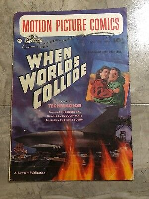 Motion Picture Comics #110 Golden Age - When Worlds Collide