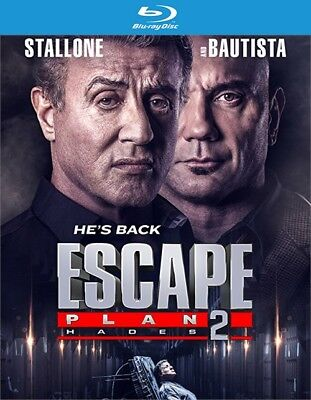 Escape Plan 2: Hades (Blu-ray Disc ONLY, 2018)