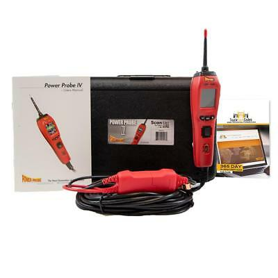 Power Probe IV Red Circuit Tester Volt Amp with Truck Fault Codes PP401AS