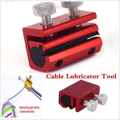 Motorcycle ATV Universal Cable Lubricator Tool Brake Clutch Luber Oiler 2 bolts