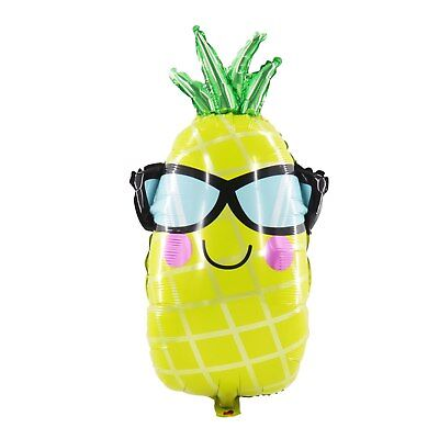 Hawaii Party Balloon Glasses Ice Cream Pineapple Sunflower Foil Helium Balloons