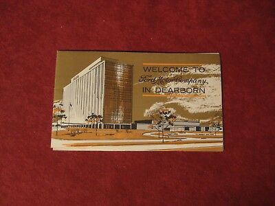 1965 Ford Dearborn Brochure Dealership Old original Vintage Booklet Book