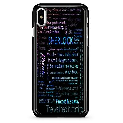 Personalized case - sherlock holems quote case - iphone , samsung and etc