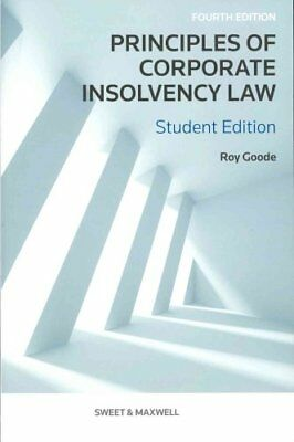 Principles of Corporate Insolvency Law by Professor Sir Roy Goode 9780414047877