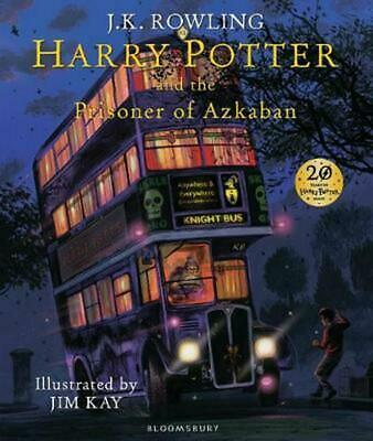 Harry Potter and the Prisoner of Azkaban Illustrated Edition by J.K. Rowling Har