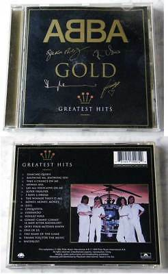 ABBA Gold / Greatest Hits .. 1999 Polar CD Limited Edition Signature Issue