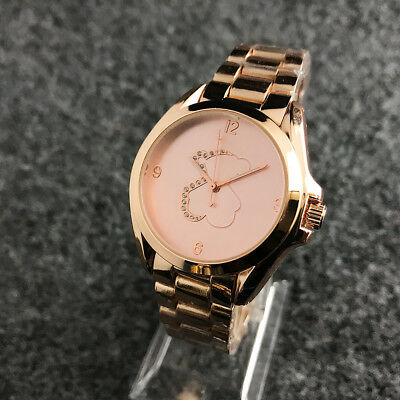 Fashion Women Casual Bear Watch Luxury Quartz Stainless Steel Dress Wristwatch