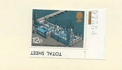 GREAT BRITAIN STAMPS - MINT ISSUE - 62nd INTER PARLIAMENTARY CONFERENCE - 1975