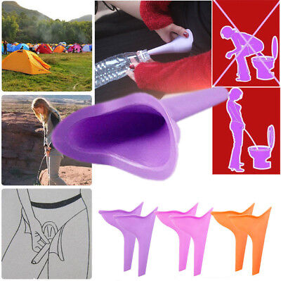 Portable Camping Female She Urinal Funnel Ladies Woman Urine Wee Loo Travel