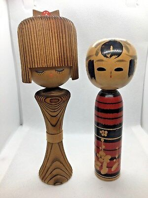 Japanese antique Kokeshi Dolls-Free Shipping from Japan