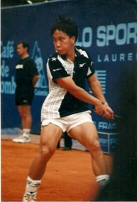 Maikel Chang- altes AGFA Foto 10x15 -Grand Slam -French Oben 1989-WM Olympia