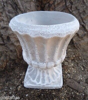 Latex only MOLD small planter urn concrete plaster casting garden mould