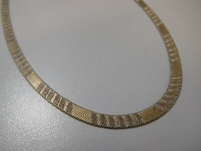 3227 || Fabelhaftes Designer Schlangen Collier Necklace 925 Silber Super Optik !