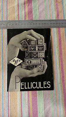 Catalogue Publicitaire Pellicules Photo Agfa 1936 TBE Vintage Photographie