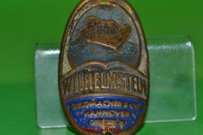 Vintage-bicycle-Tablet-Logo-of-the-manufacturer-Wilheimstein-4909