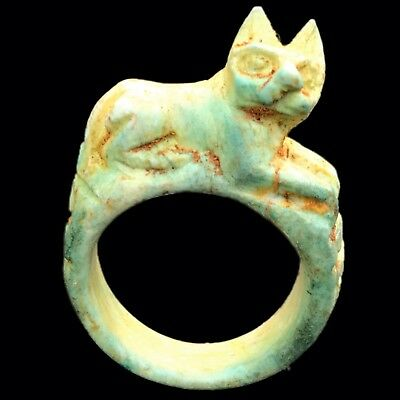 Beautiful Ancient Egyptian  Ring 300 Bc (5)