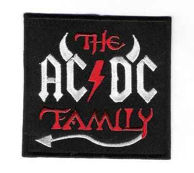 patch embroidered / écusson thermocollant The AC/DC Family