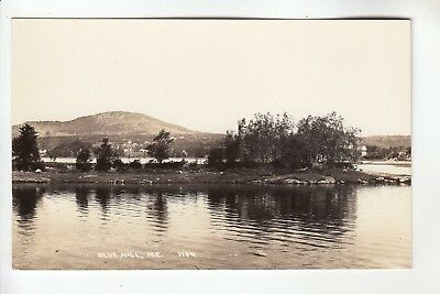 Real Photo Postcard Blue Hill  ME 1104