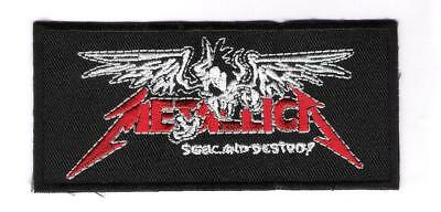 patch embroidered / écusson thermocollant Metallica Seek And Destroy