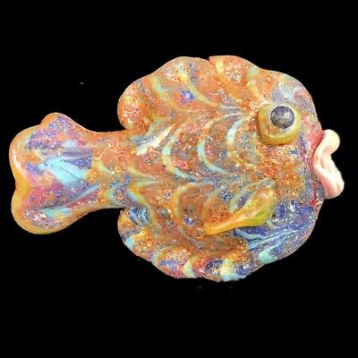 Very Rare Large Phoenician Glass Fish 300Bc Super Quality (6)