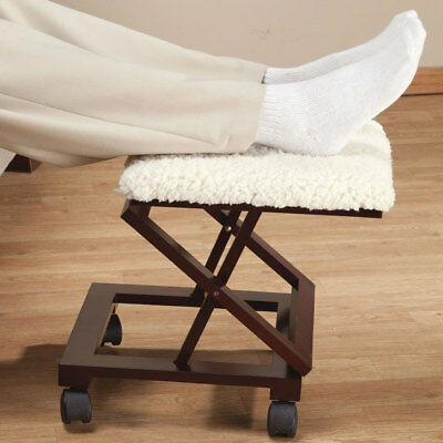 Sherpa Wooden Footrest by OakRidgeTM, Natural