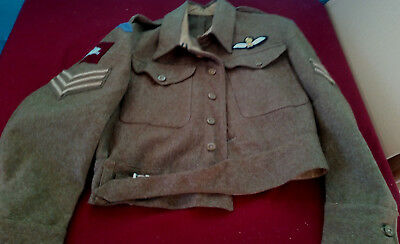 WW2 British RAF Glider Pilot Regiment Battle Dress 1944 Shein & Myer Ltd Dundee