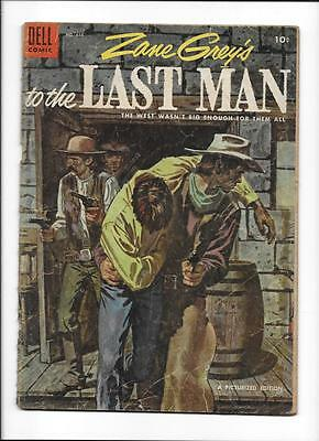 Four Color #616 [1955 Gd] 'zane Grey's To The Last Man'