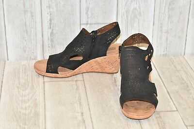 7cf6b7936e ROCKPORT COBB HILL Collection Janna Perf Wedges - Women's Size 9M ...