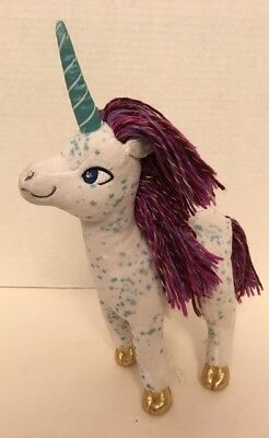 UNI The Unicorn Book Plush Doll Amy Krouse Rosenthal Merrymakers 2014 Stuffed