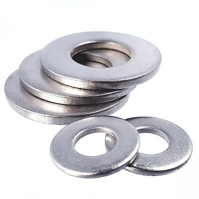 FLAT FORM B WASHERS A2 Stainless Steel ALL SIZES M5-M36 Metric Bolt Screw BS4320
