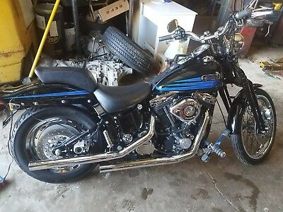 1995 Harley-Davidson Softail  harley-davidson softail motorcycles
