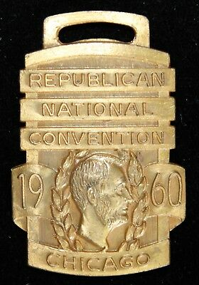 1960 Republican National Convention Badge Chicago, IL