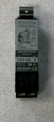 Allen-Bradley 595-AB Auxiliary Contact Sizes 0-5 Series B, New in Box