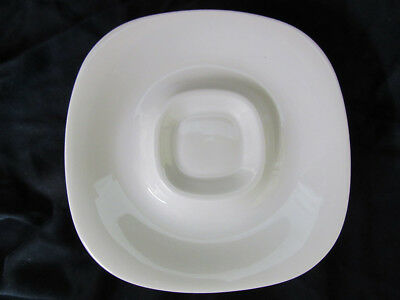 """Block Langenthal Transition White Lot of 8 Saucers 6"""" Across Completer Set"""
