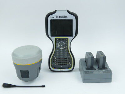 Trimble R10 GNSS GPS Base/Rover Receiver w/ 450-470 MHz Radio and TSC3 w/ Access